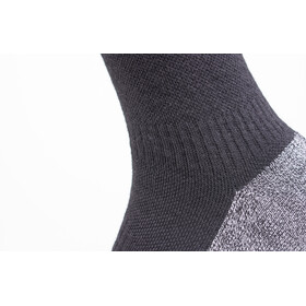 Sealskinz Soft Touch Mid Length Socks Black/Grey/White